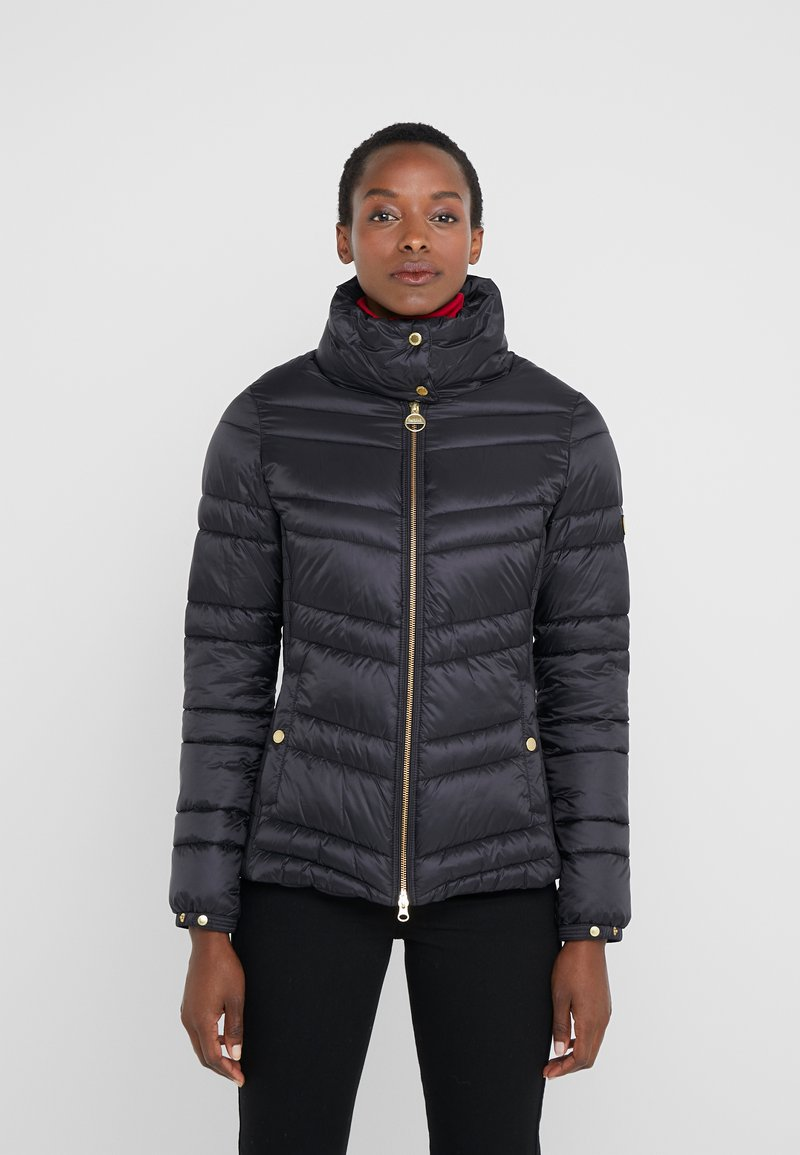 Barbour International - RALLY QUILT - Lehká bunda - black