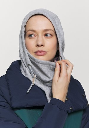 LINED HOOD - Huer - grey