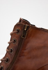 Bugatti - RONJA - Lace-up ankle boots - cognac - 2