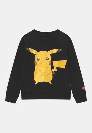 LEVIS X POKEMON CREWNECK UNISEX - Sweatshirt - black