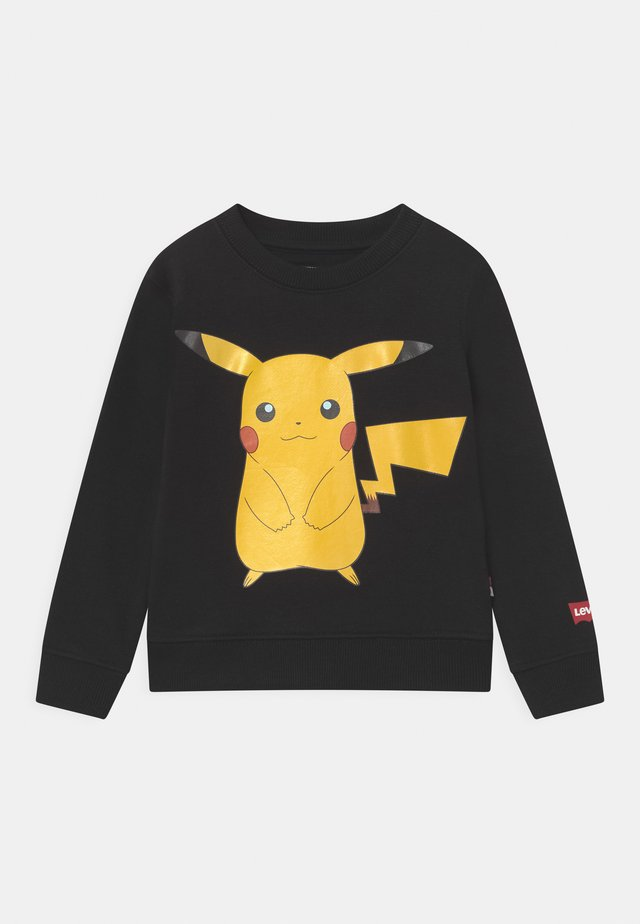 LEVIS X POKEMON CREWNECK UNISEX - Collegepaita - black