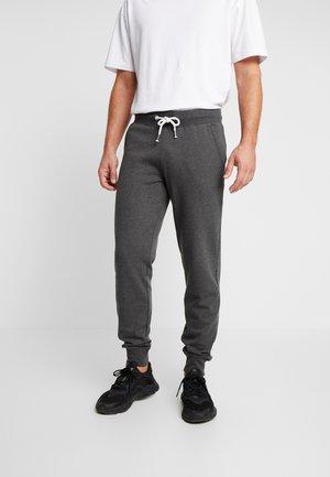 Tracksuit bottoms - mottled dark grey