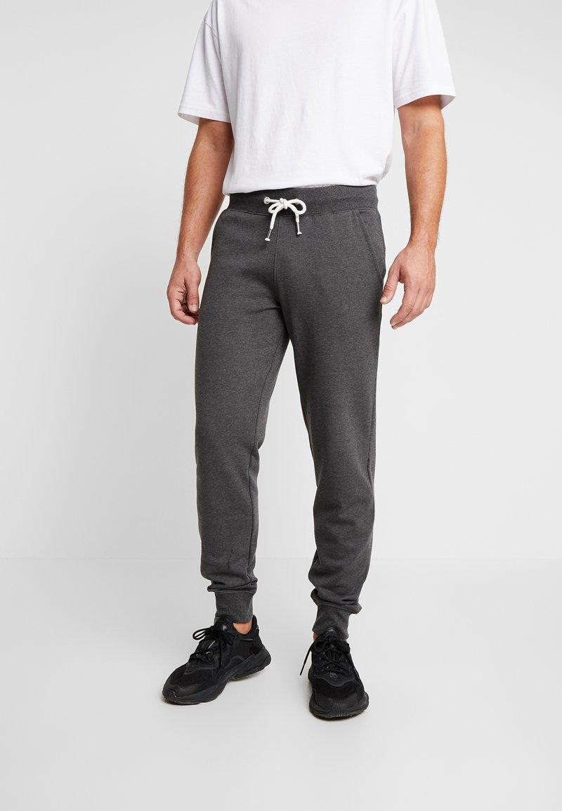 Pier One - Spodnie treningowe - mottled dark grey