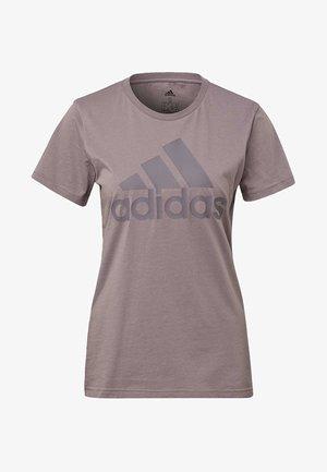 MUST HAVES BADGE OF SPORT T-SHIRT - Print T-shirt - legacy purple