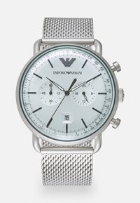 Emporio Armani - Chronograph watch - silver-coloured - 0