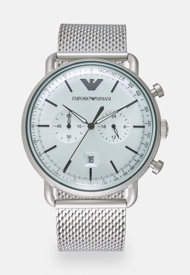Cronógrafo - silver-coloured