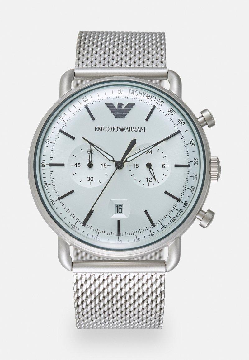 Emporio Armani - Chronograph watch - silver-coloured