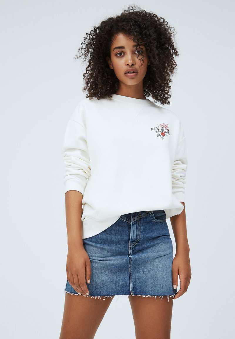 Pepe Jeans - BECKY - Mikina - white