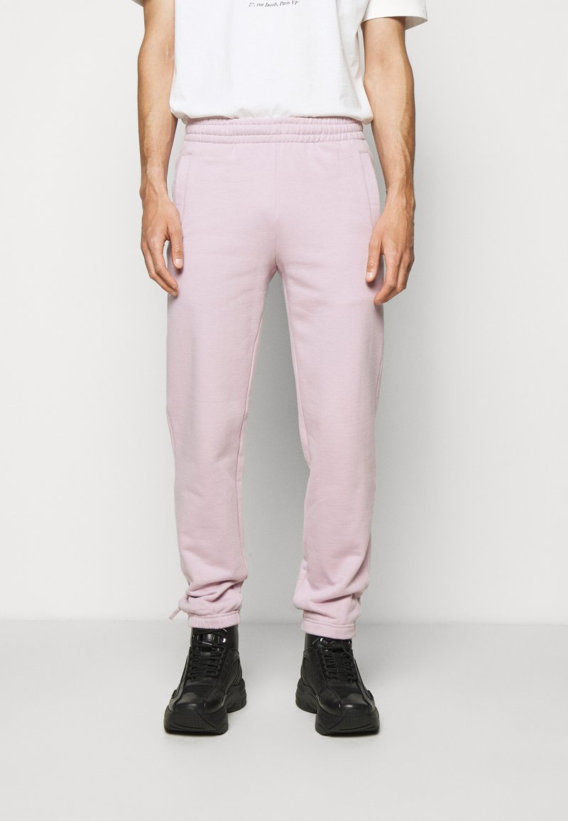 032c - REFLECTIVE LOGO - Teplákové kalhoty - grey purple