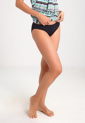 Bikini bottoms - black solid