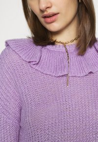 Who What Wear - RUFFLE - Jumper - lavender - 5