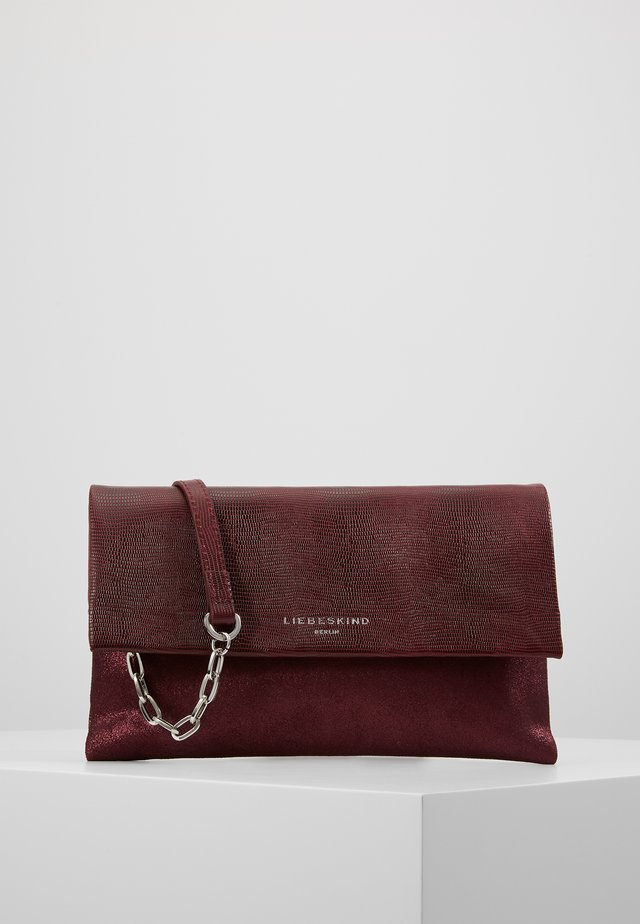 EVCLUTCHS2 - Pochette - red wine
