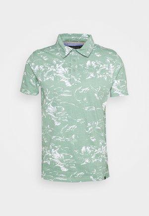 LA LINEA - Poloshirt - granite green