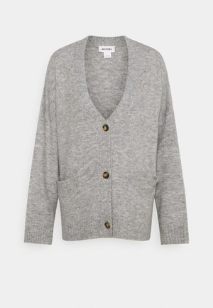 BOBBI - Cardigan - grey melange