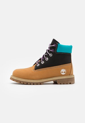 PREMIUM UNISEX - Lace-up ankle boots - wheat/blue