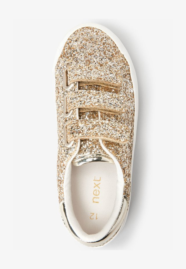 TOUCH FASTENING  - Sneakers laag - gold