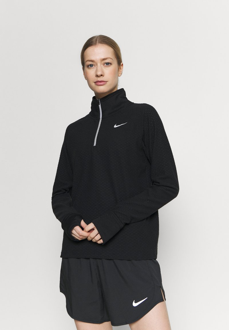 Nike Performance - SPHERE - Sweater - black/reflective silver