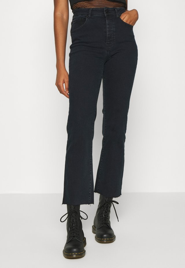 FRIDA - Straight leg jeans - black