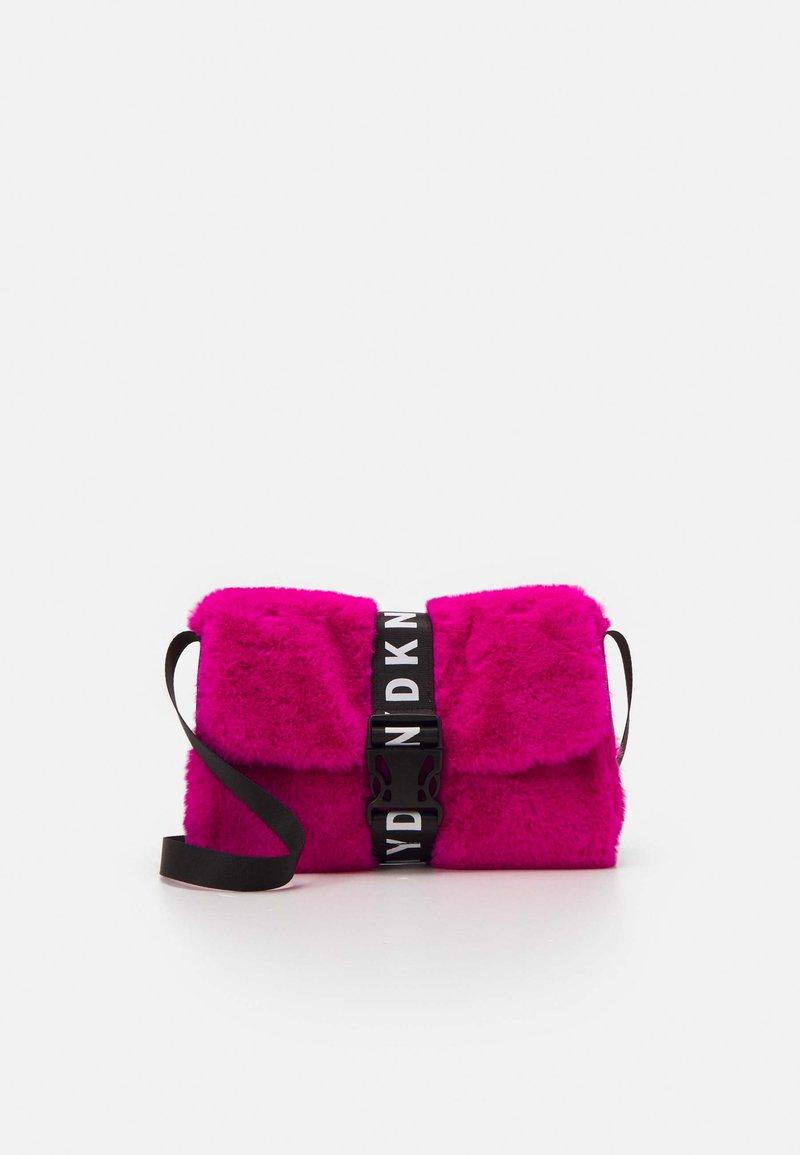 DKNY - SHOULDER BAG - Across body bag - fuschia