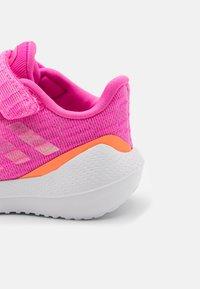 adidas Performance - EQ21 RUN UNISEX - Neutral running shoes - screaming pink/screaming orange/footwear white - 5