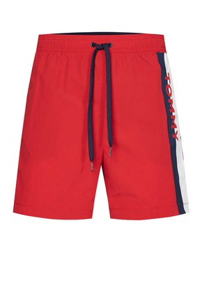 Swimming shorts - orange - rot