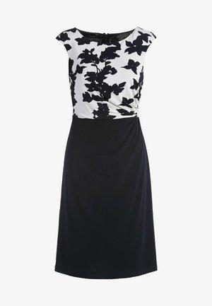 Vestido informal - creme-nachtblau