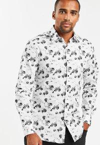 Next - SLIM FIT - Shirt - white - 0