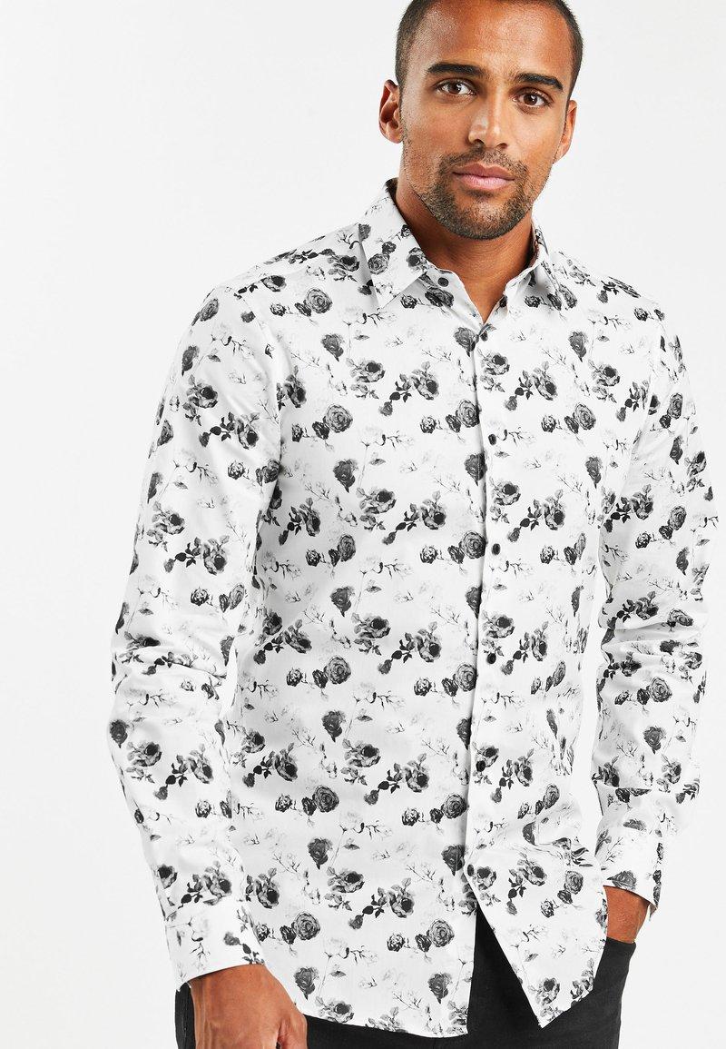 Next - SLIM FIT - Shirt - white