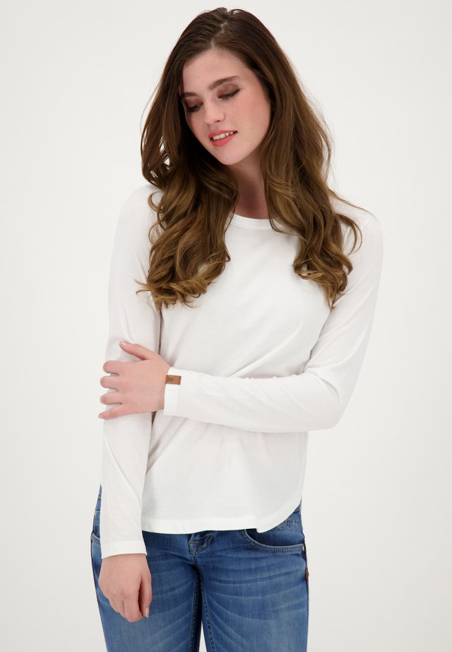 Long sleeved top - cloudy