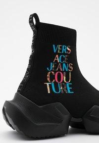 Versace Jeans Couture - Baskets montantes - black - 4