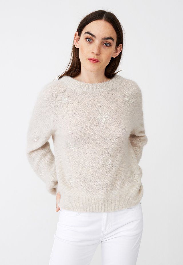 CLASSIC FIT - Jumper - offwhite