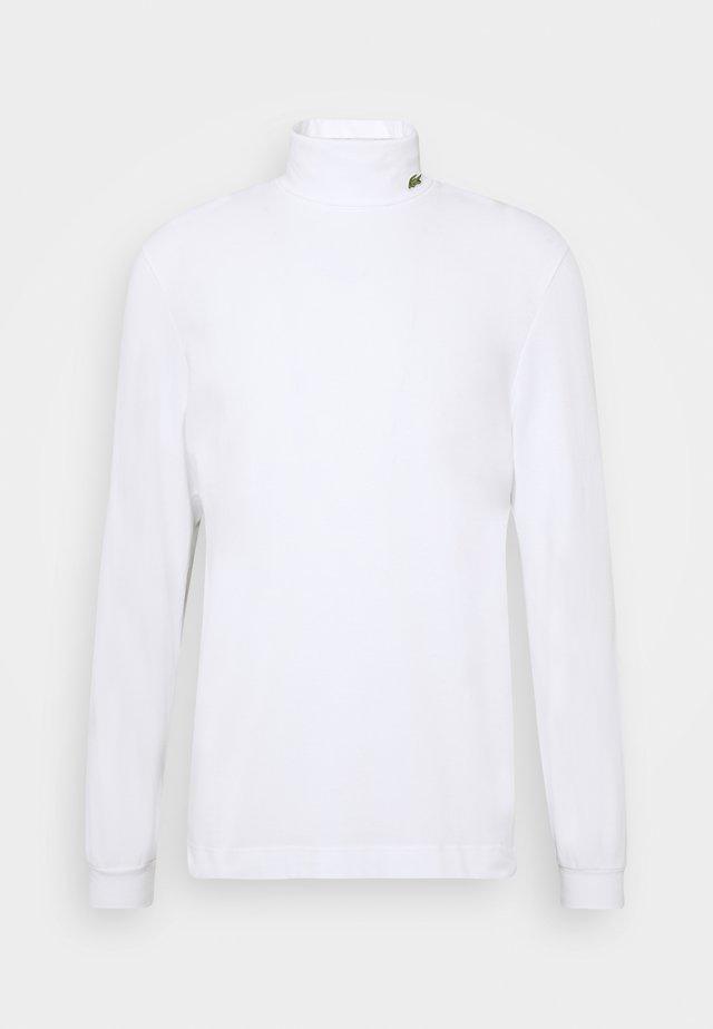 Topper langermet - white