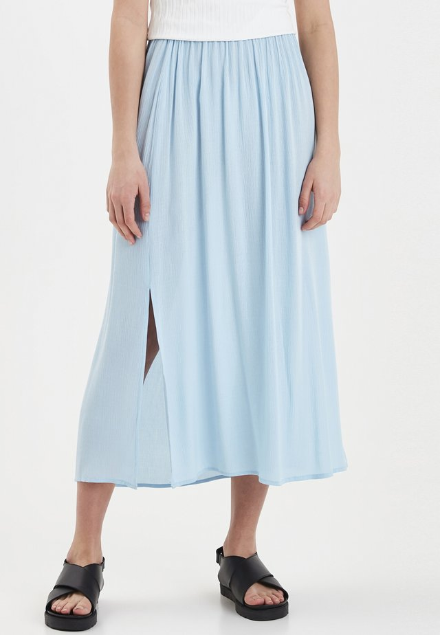 IHMARRAKECH - Pleated skirt - cool blue