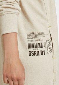 G-Star - GRAPHIC POCKET TWEATER - Jumper dress - ecru - 3
