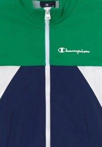 Champion - LEGACY 90'S BLOCK FULL ZIP  - Veste de survêtement - green/blue - 3