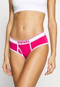 Diesel - UFPN-OXY PANTIES 3 PACK - Briefs - red/pink/rosa - 4