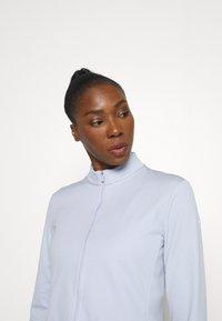 Nike Golf - Zip-up sweatshirt - ghost/white - 3