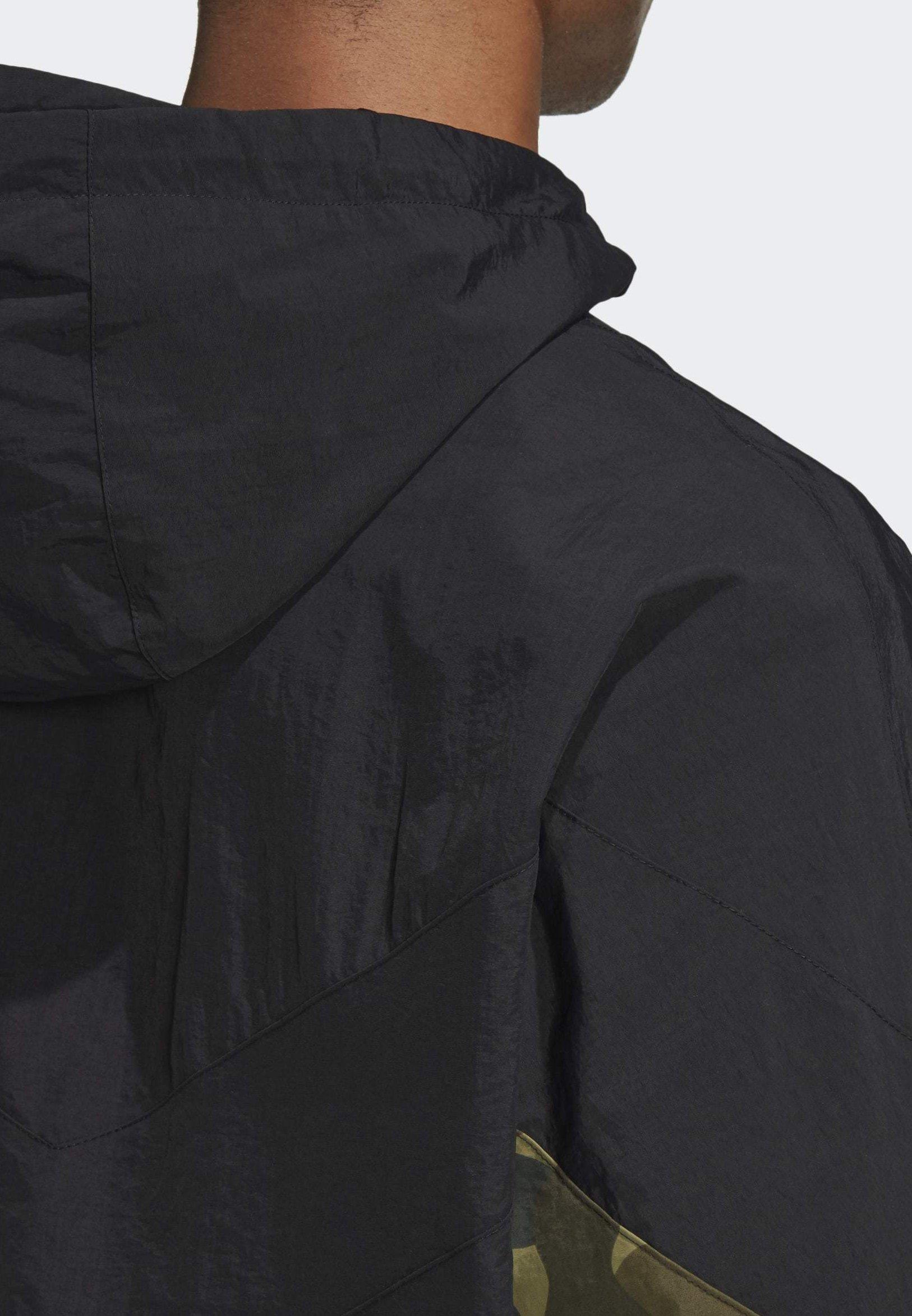 adidas Originals CAMOUFLAGE WINDBREAKER Lett jakke black