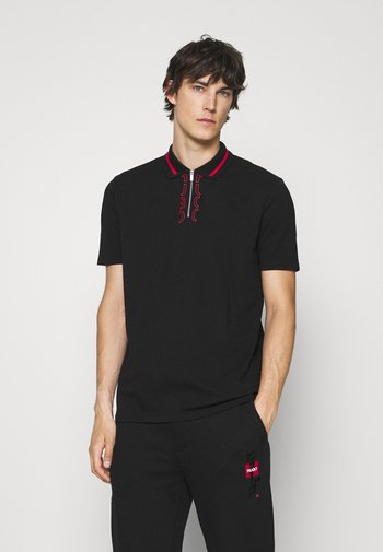 DOLMAR - Poloshirt - black