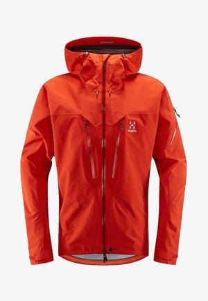 SPITZ JACKET - Hardshell jacket - havana