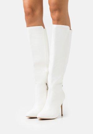 JOLIE - Stivali con i tacchi - white