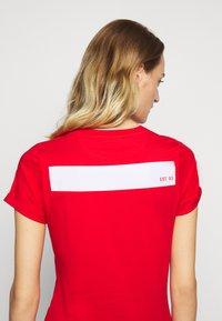HUGO - THE SLIM TEE - T-Shirt print - open pink - 6