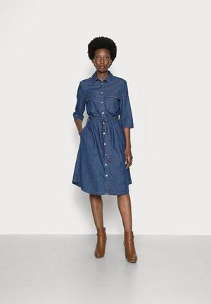 Denim dress - blue non