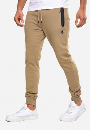 TRISTAIN  - Tracksuit bottoms - stone