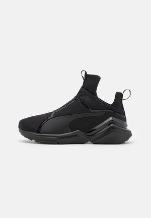 FIERCE 2  - Sports shoes - black/metallic silver