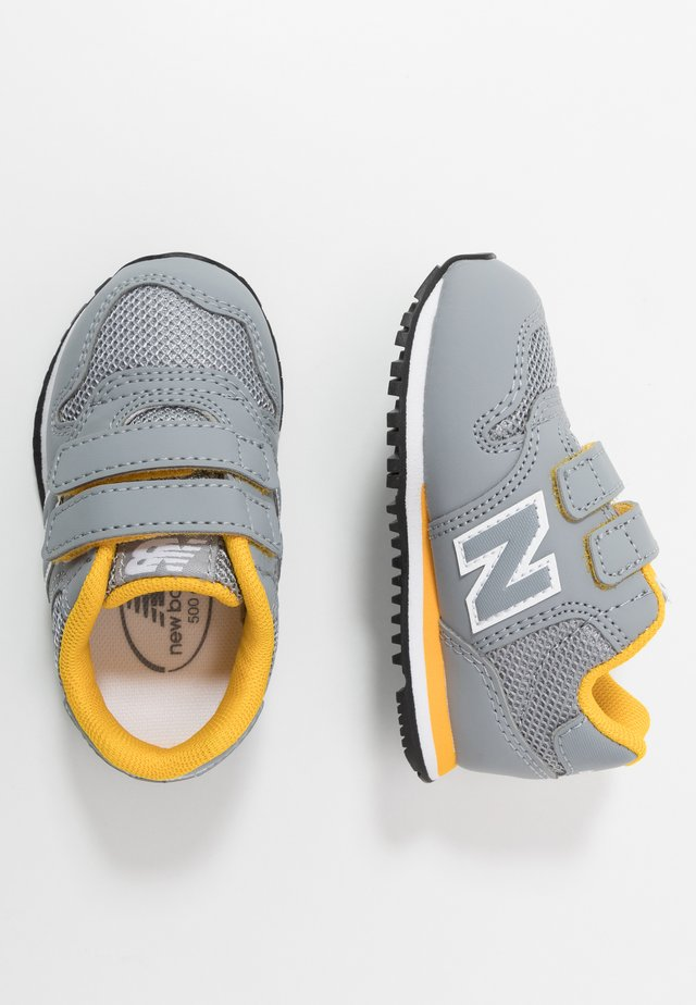 IV500RG - Matalavartiset tennarit - grey/yellow