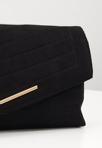Dorothy Perkins - STITCHED BAR  - Pikkulaukku - black - 3