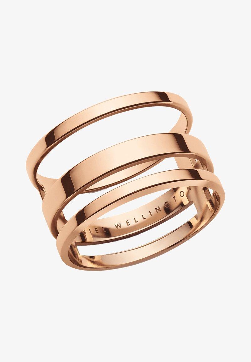 Daniel Wellington - ELAN TRIAD  - Ring - rose gold