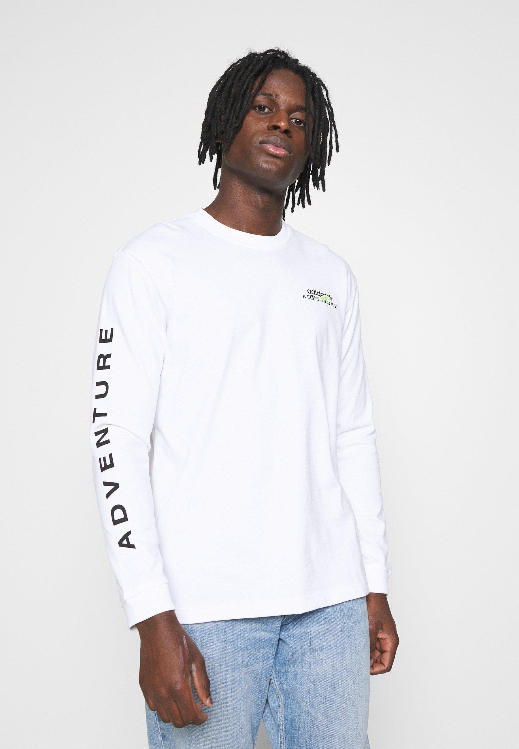 Men ADIDAS ADVENTURE GRAPHIC T-SHIRT - Long sleeved top