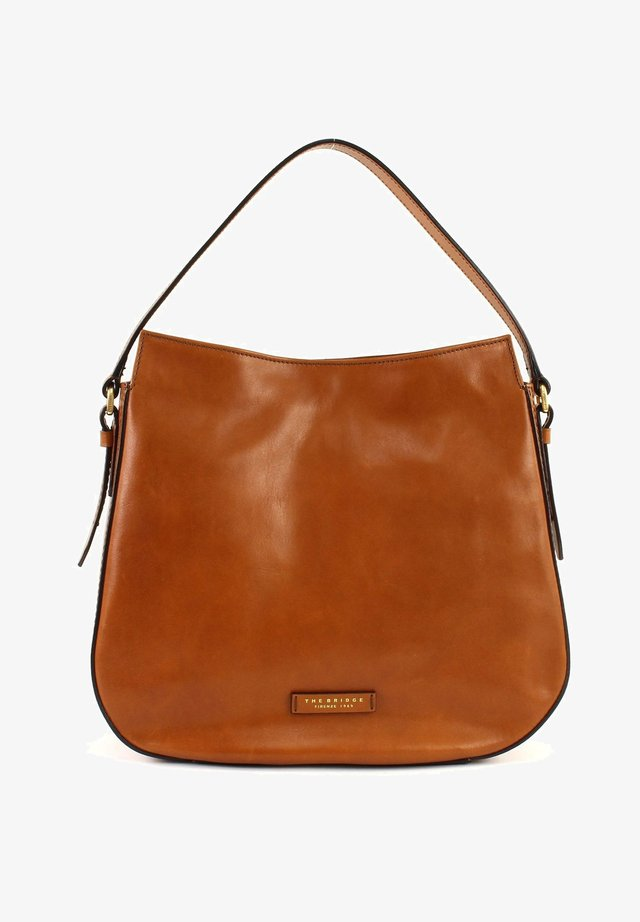 FLORENTIN  - Across body bag - cognac